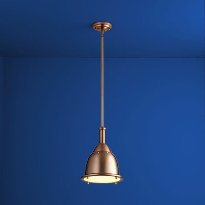 Ruvo 1-Light Mini Pendant Finish: Satin Copper