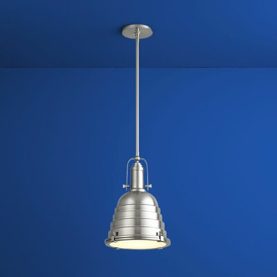 Sigma 1-Light Mini Pendant Finish: Satin Nickel