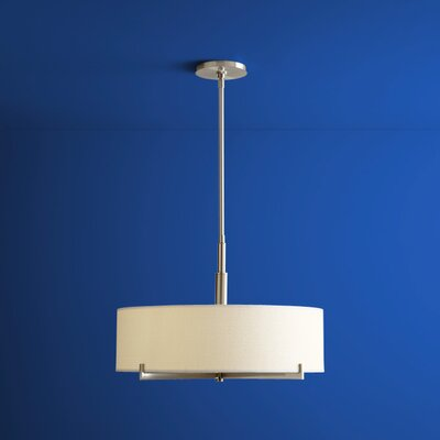 Ina 4-Lights Drum Pendant Finish: Satin Nickel