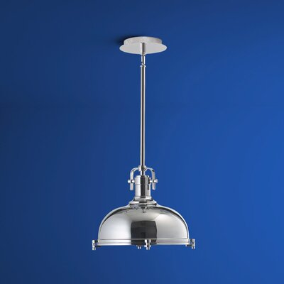 Vida 1-Light Bowl Pendant Finish: Polished Chrome