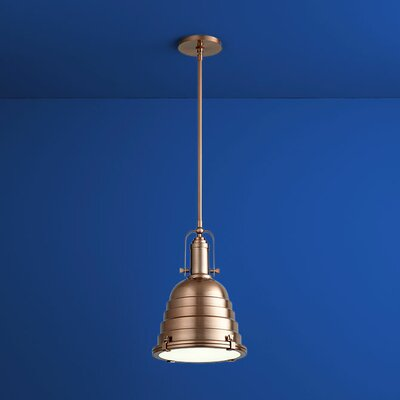 Sigma 1-Light Mini Pendant Finish: Satin Copper
