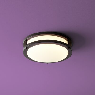 Oracle 1-Light Flush Mount Finish: Old World