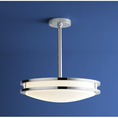Oracle 2-Lights Inverted Pendant Finish: Polished Chrome
