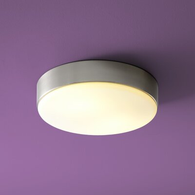 Journey 2-Lights Flush Mount Finish: Satin Nickel