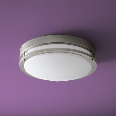 Oracle 1-Light Flush Mount Size: 5.5 H x 17.75 W x 17.75 D
