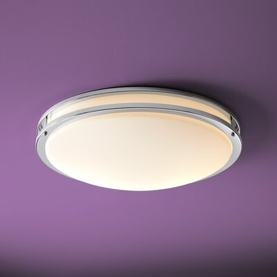Oracle 4-Light Flush Mount Finish: Polished Chrome
