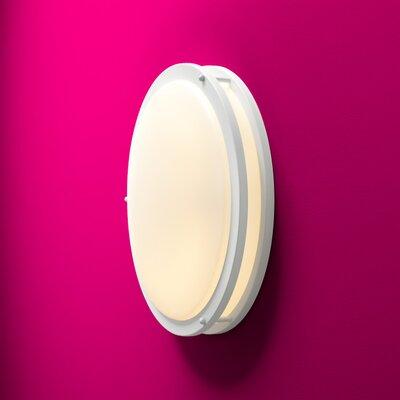 Oracle 2-Light Flush Mount Finish: White