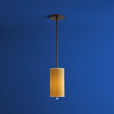 Echo 1-Light Mini Pendant Finish: Oiled Bronze
