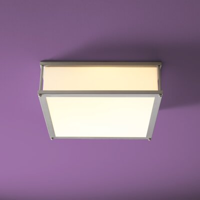 Modulo 2-Lights Flush Mount Size: 4.75 H x 16 W x 16 D