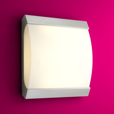 Apollo 3-Lights Flush Mount Finish: Satin Nickel