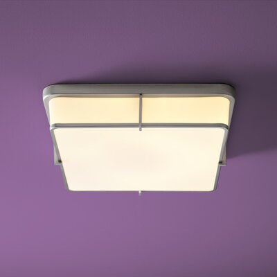 Geo 2-Lights Flush Mount