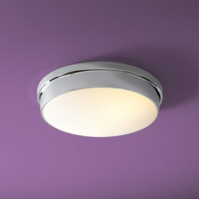 Theory 2-Lights Flush Mount Finish: Polished Chrome