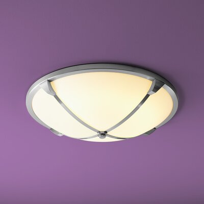 Alpha 2-Light Flush Mount