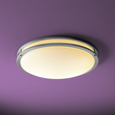 Oracle 2-Light Flush Mount Size: 5 H x 23.75 W x 23.75 D