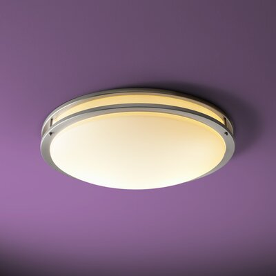 Oracle 4-Light Flush Mount Finish: Satin Nickel