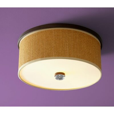 Echo 2-Light Flush Mount Finish: Oiled Bronze