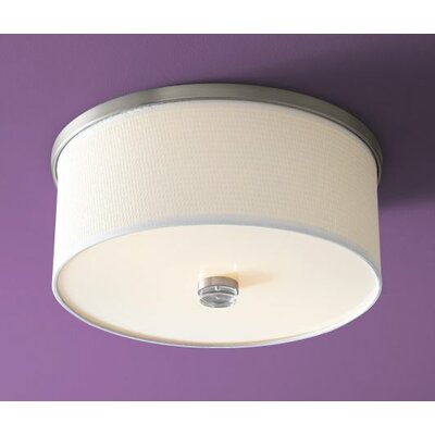 Echo 2-Light Flush Mount Finish: Satin Nickel