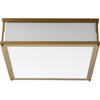 Modulo 2-Light Flush Mount