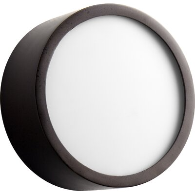 Peepers 1-Light Flush Mount Finish: Oiled Bronze