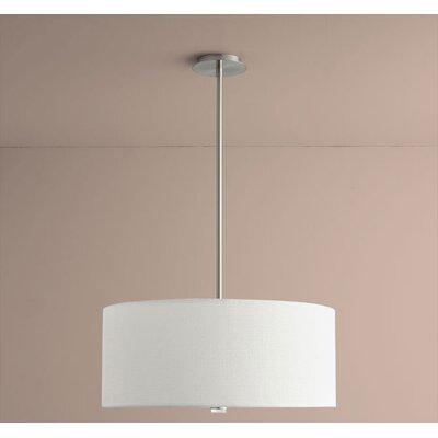 Echo 3-Light Drum Pendant Size: 10.63 H x 18 W x 18 D