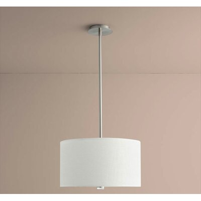 Echo 3-Light Drum Pendant Size: 10.63 H x 18 W x 18 D