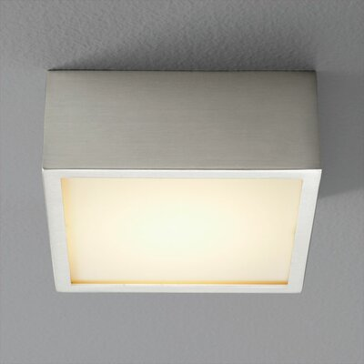 Pyxis 1-Light Flush Mount Finish: Satin Nickel
