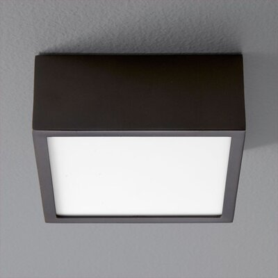 Pyxis 1-Light Flush Mount Finish: Oiled Bronze