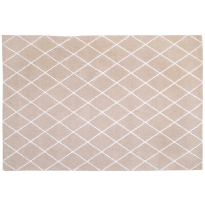 Plush Beige Area Rug