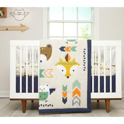 Little Love by Nojo Aztec Infant 5 Piece Crib Bedding Set 3584515