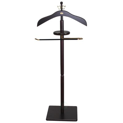 Wood Men Suit Valet Stand