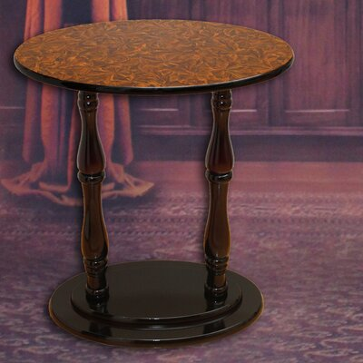 Oval End Table Finish: Cherry Brown