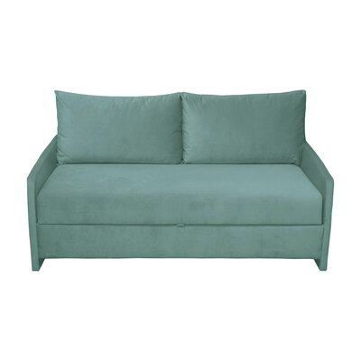 Happel Sofa Bed Upholstery: Green