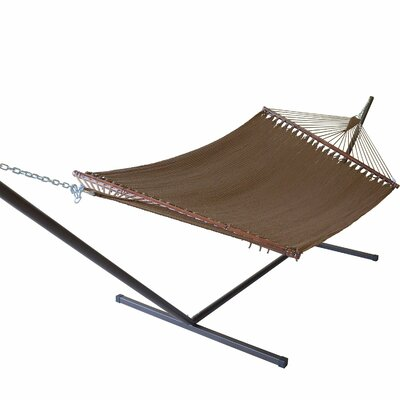 Caribbean Hammock with Stand Color: Mocha