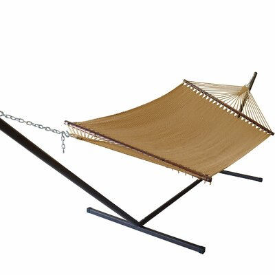 Caribbean Hammock with Stand Color: Tan