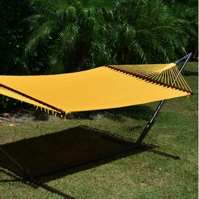 Caribbean Hammock with Stand Color: Yellow