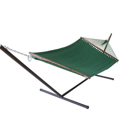 Caribbean Hammock with Stand Color: Green