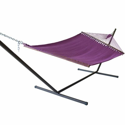 Caribbean Hammock with Stand Color: Purple