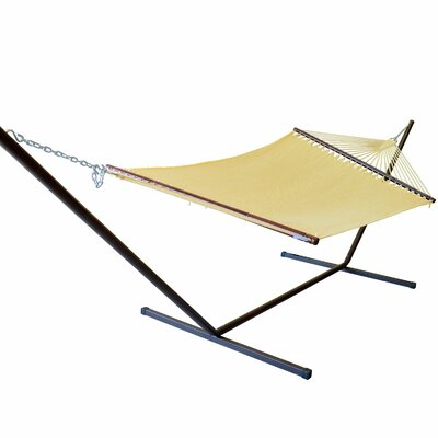 Caribbean Hammock with Stand Color: Cream