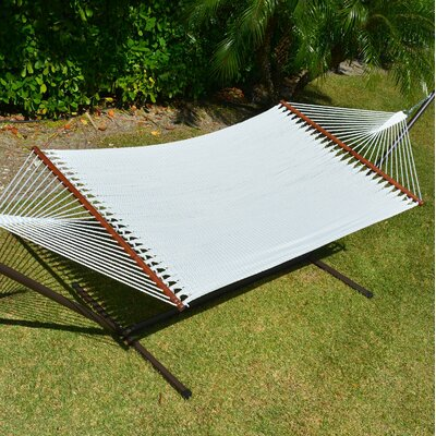 Caribbean Hammock with Stand Color: White