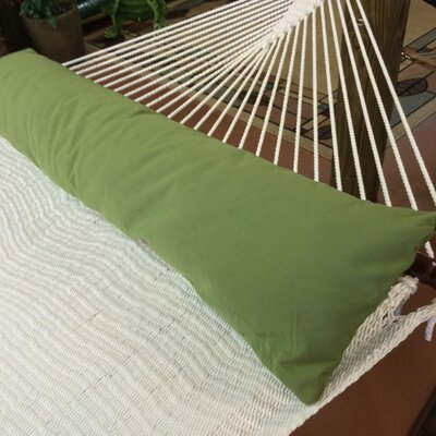 Caribbean Double Hammock Bolster Pillow Color: Light Green