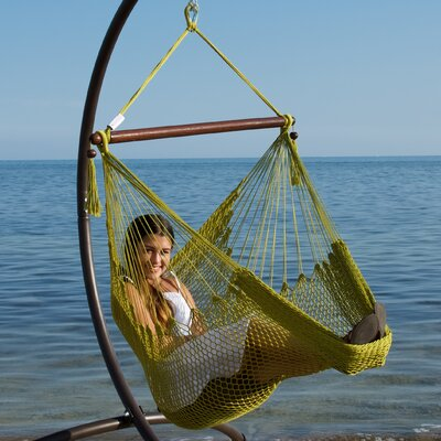 Caribbean Polyester Chair Hammock Color: Olive