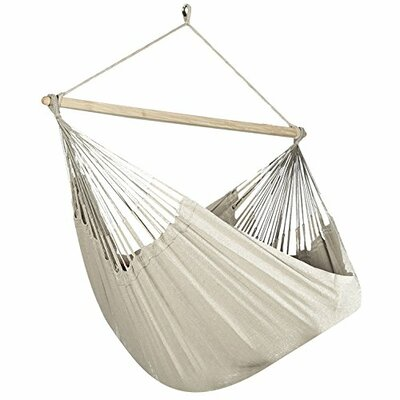 Caribbean Solid Chair Hammock Color: Beige