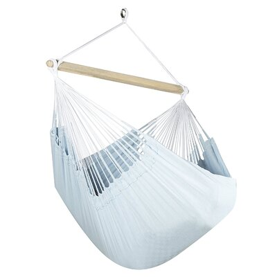 Caribbean Jumbo Lounger Chair Hammock Color: Powder Blue
