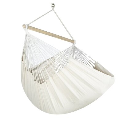 Caribbean Jumbo Lounger Chair Hammock Color: Natural
