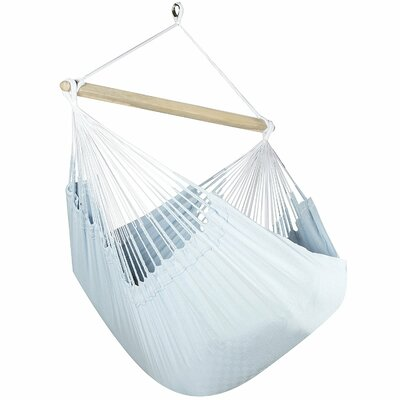 Caribbean Solid Chair Hammock Color: Powder Blue