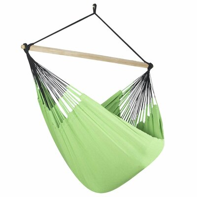 Caribbean Solid Chair Hammock Color: Lime