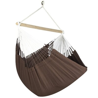 Caribbean Solid Chair Hammock Color: Cocoa