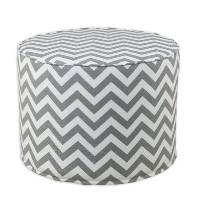 Zig Zag Ash High Corded Foam Ottoman be20c3013