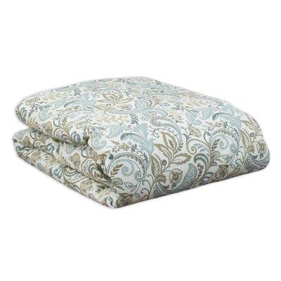 Findlay Comforter Size: Full, Color: Blue