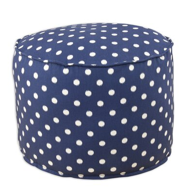 Ikat Dot Sunshine Beads Ottoman bpr2c3017